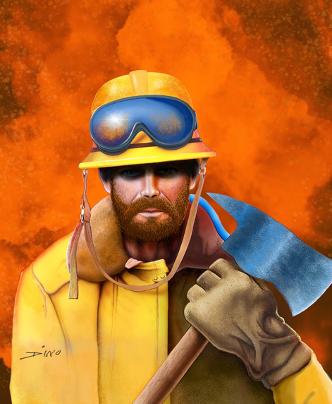 pics of fireman. Fireman Cover art for software